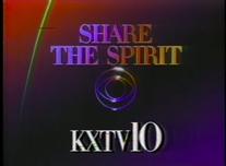 KXTV CBS Share The Spirit 1986