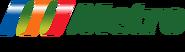Metro logo 2004 con eslogan (2009-2011)