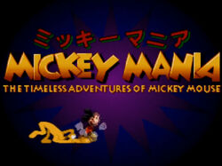 MickeyManiaSNESJapan1995
