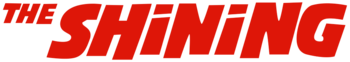 The Shining movie logo