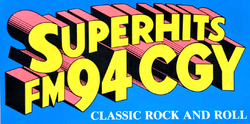 WCGY FM Lawrence 1987