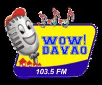 Wow Davao 103.5 Logo (2007-2009)