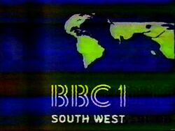 BBC 1 1981 South West