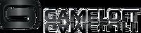 Gameloft Logo (2010; Black Version; Reflective Version; Horizontal Version)