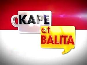 Kape at Balita title card (GMA News TV, 2012–13)