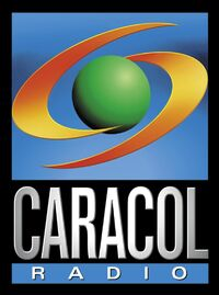 Logo Caracol Radio 1998