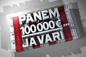 Panem 100 000 ja vari logo