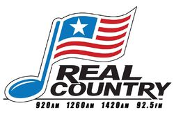 Real Country HV 920 1260 1420 AM 92.5 FM