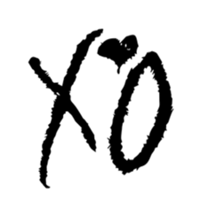 The Weeknd XO logo