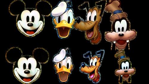 Disney cartoon headshots