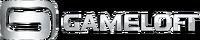 Gameloft Logo (2010; White Version; Horizontal Version)