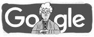 Google Annie Besant's 168th Birthday (Version 3)