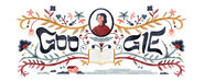 Google Rachel Bluwstein's 126th Birthday