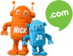 Nick Jr. Dot Com Plush Robots