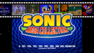 Sonic Mega Collection Title Screen 16x9