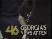 WGNX News at Ten 1989