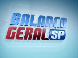 Balanço Geral SP 2012