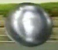 Bola de Logotipo da Rede Globo no Futebol na Globo 1998 Versão C