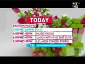 JUCE TV schedule bumper