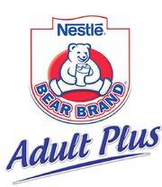 Nestle Bear Brand Adult Plus logo 2011