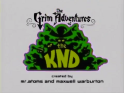 The Grim Adventures of the KND Title Card