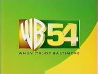 WNUV (WB 54) ident