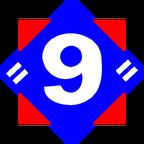 Canal 9 Paraná (Logo 1995)
