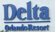 Delta Orlando Resort sign