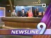 KWTV Newsline 9 open 1992
