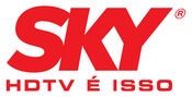 Sky logo and slogan