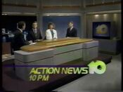 WALA Action News 10 10PM 1991 1