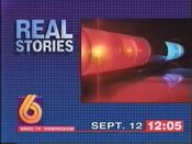 WBRC-TV Channel 6 Real Stories of the Highway Patrol promo 1994