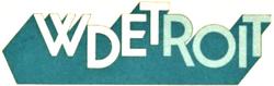 WDET Detroit 1982