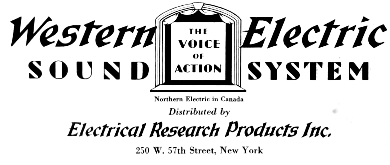 Image - Western Electric Sound System 1930s.png   Logopedia   FANDOM ...