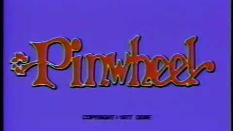 Pinwheel (Nickelodeon) blue bumper from 1977 (82317B)