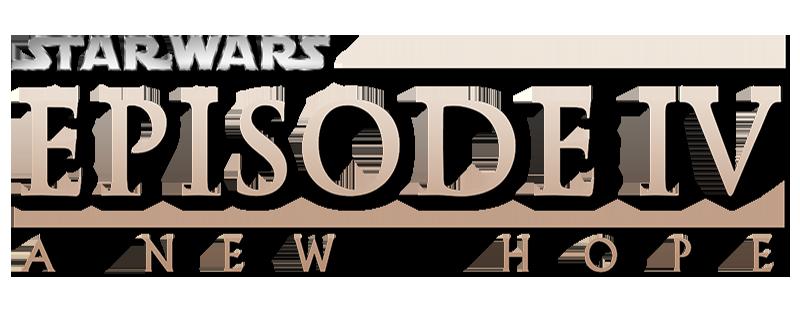 Výsledek obrázku pro star wars 4 logo