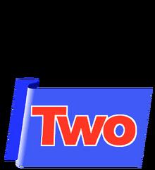 TVNZ2 blue ribbon logo
