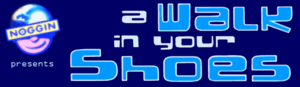 A Walk in Your Shoes first logo