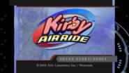 KAR Title Screen