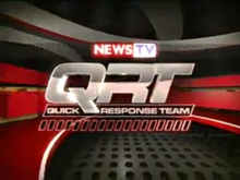 News TV Quick Response Team Logo Animation (2011–2018)