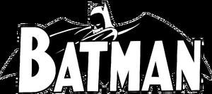 1957 batman comic title logo