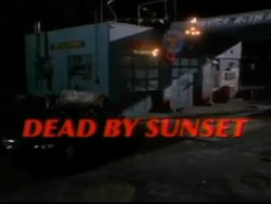 Dead by Sunset title card