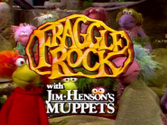 Fraggle Rock Title Card White text