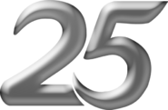 Indosiar 25 Tahun Silver Number