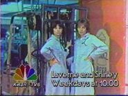 KBJR-TV's Laverne And Shirley Video Promo From 1988