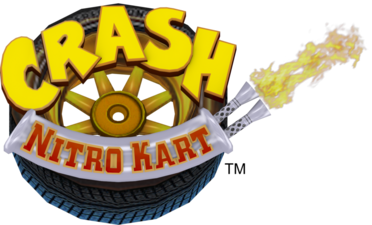 Logo Crash Nitro Kart
