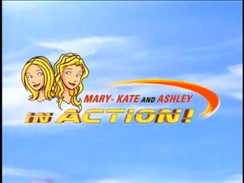 Mary-Kate & Ashley In Action! title card