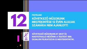 RTL Klub 2017 Age 12 Parental Guidance