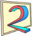 TV2 Norway logo 1991