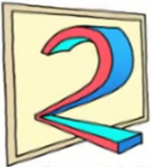 TV2 Norway logo 1991